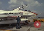 Image of aircraft TA-4J Beeville Texas Naval Air Station Chase Field USA, 1982, second 10 stock footage video 65675052119