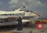 Image of aircraft TA-4J Beeville Texas Naval Air Station Chase Field USA, 1982, second 11 stock footage video 65675052119
