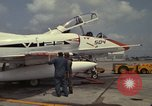 Image of aircraft TA-4J Beeville Texas Naval Air Station Chase Field USA, 1982, second 15 stock footage video 65675052119
