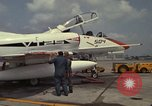Image of aircraft TA-4J Beeville Texas Naval Air Station Chase Field USA, 1982, second 16 stock footage video 65675052119