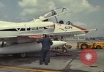 Image of aircraft TA-4J Beeville Texas Naval Air Station Chase Field USA, 1982, second 18 stock footage video 65675052119