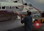 Image of aircraft TA-4J Beeville Texas Naval Air Station Chase Field USA, 1982, second 19 stock footage video 65675052119