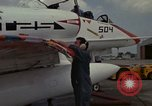 Image of aircraft TA-4J Beeville Texas Naval Air Station Chase Field USA, 1982, second 22 stock footage video 65675052119