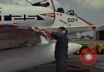 Image of aircraft TA-4J Beeville Texas Naval Air Station Chase Field USA, 1982, second 25 stock footage video 65675052119