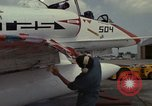 Image of aircraft TA-4J Beeville Texas Naval Air Station Chase Field USA, 1982, second 26 stock footage video 65675052119