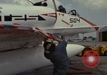 Image of aircraft TA-4J Beeville Texas Naval Air Station Chase Field USA, 1982, second 27 stock footage video 65675052119