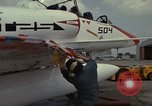 Image of aircraft TA-4J Beeville Texas Naval Air Station Chase Field USA, 1982, second 29 stock footage video 65675052119