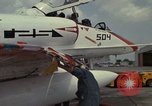 Image of aircraft TA-4J Beeville Texas Naval Air Station Chase Field USA, 1982, second 31 stock footage video 65675052119