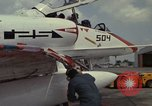 Image of aircraft TA-4J Beeville Texas Naval Air Station Chase Field USA, 1982, second 32 stock footage video 65675052119