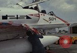 Image of aircraft TA-4J Beeville Texas Naval Air Station Chase Field USA, 1982, second 35 stock footage video 65675052119