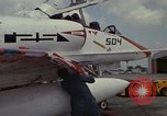 Image of aircraft TA-4J Beeville Texas Naval Air Station Chase Field USA, 1982, second 36 stock footage video 65675052119