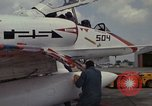 Image of aircraft TA-4J Beeville Texas Naval Air Station Chase Field USA, 1982, second 37 stock footage video 65675052119