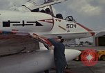 Image of aircraft TA-4J Beeville Texas Naval Air Station Chase Field USA, 1982, second 38 stock footage video 65675052119