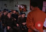 Image of briefing officer Mediterranean Sea, 1966, second 6 stock footage video 65675052126