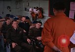 Image of briefing officer Mediterranean Sea, 1966, second 9 stock footage video 65675052126
