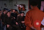 Image of briefing officer Mediterranean Sea, 1966, second 12 stock footage video 65675052126