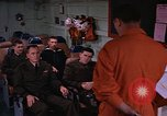 Image of briefing officer Mediterranean Sea, 1966, second 15 stock footage video 65675052126