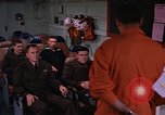 Image of briefing officer Mediterranean Sea, 1966, second 20 stock footage video 65675052126