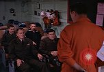 Image of briefing officer Mediterranean Sea, 1966, second 21 stock footage video 65675052126