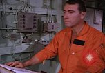 Image of briefing officer Mediterranean Sea, 1966, second 26 stock footage video 65675052126