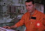 Image of briefing officer Mediterranean Sea, 1966, second 30 stock footage video 65675052126