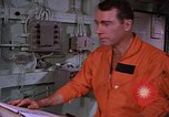 Image of briefing officer Mediterranean Sea, 1966, second 31 stock footage video 65675052126