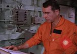Image of briefing officer Mediterranean Sea, 1966, second 32 stock footage video 65675052126