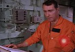 Image of briefing officer Mediterranean Sea, 1966, second 33 stock footage video 65675052126