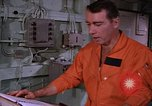 Image of briefing officer Mediterranean Sea, 1966, second 35 stock footage video 65675052126