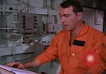 Image of briefing officer Mediterranean Sea, 1966, second 36 stock footage video 65675052126