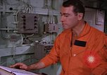 Image of briefing officer Mediterranean Sea, 1966, second 37 stock footage video 65675052126