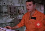 Image of briefing officer Mediterranean Sea, 1966, second 38 stock footage video 65675052126