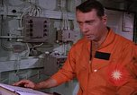 Image of briefing officer Mediterranean Sea, 1966, second 39 stock footage video 65675052126