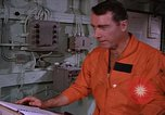 Image of briefing officer Mediterranean Sea, 1966, second 40 stock footage video 65675052126