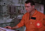 Image of briefing officer Mediterranean Sea, 1966, second 41 stock footage video 65675052126