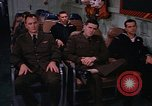 Image of briefing officer Mediterranean Sea, 1966, second 44 stock footage video 65675052126