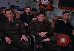 Image of briefing officer Mediterranean Sea, 1966, second 53 stock footage video 65675052126