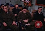 Image of briefing officer Mediterranean Sea, 1966, second 54 stock footage video 65675052126
