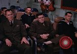Image of briefing officer Mediterranean Sea, 1966, second 55 stock footage video 65675052126