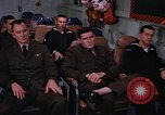Image of briefing officer Mediterranean Sea, 1966, second 58 stock footage video 65675052126