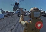 Image of Aircraft Carrier USS Ranger Indian Ocean, 1982, second 2 stock footage video 65675052139