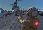 Image of Aircraft Carrier USS Ranger Indian Ocean, 1982, second 3 stock footage video 65675052139
