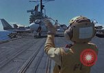 Image of Aircraft Carrier USS Ranger Indian Ocean, 1982, second 4 stock footage video 65675052139