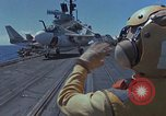 Image of Aircraft Carrier USS Ranger Indian Ocean, 1982, second 8 stock footage video 65675052139