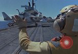 Image of Aircraft Carrier USS Ranger Indian Ocean, 1982, second 9 stock footage video 65675052139