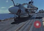 Image of Aircraft Carrier USS Ranger Indian Ocean, 1982, second 16 stock footage video 65675052139
