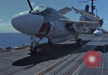 Image of Aircraft Carrier USS Ranger Indian Ocean, 1982, second 18 stock footage video 65675052139