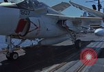 Image of Aircraft Carrier USS Ranger Indian Ocean, 1982, second 21 stock footage video 65675052139