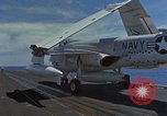 Image of Aircraft Carrier USS Ranger Indian Ocean, 1982, second 32 stock footage video 65675052139