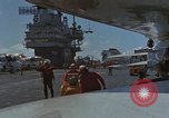 Image of Aircraft Carrier USS Ranger Indian Ocean, 1982, second 52 stock footage video 65675052139